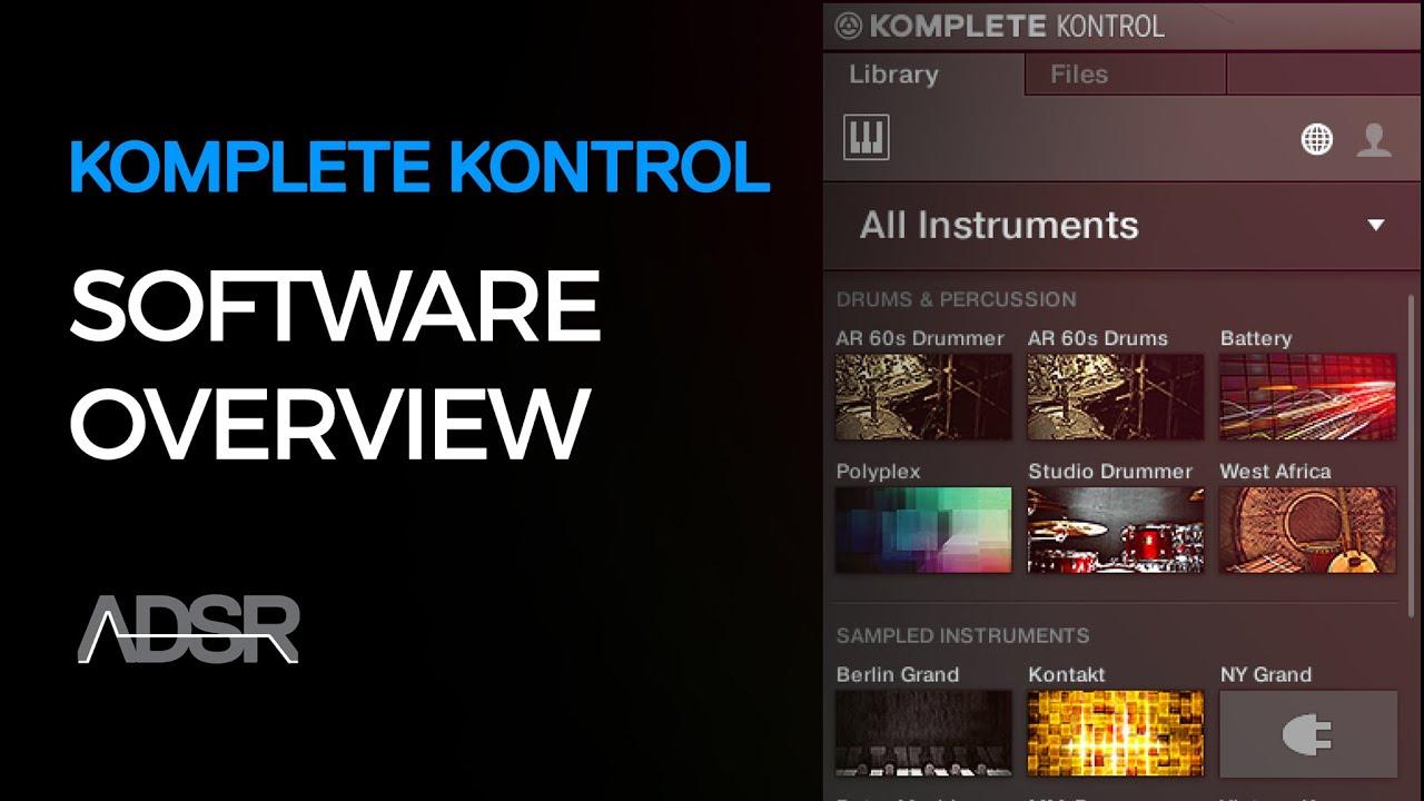 software komplete kontrol