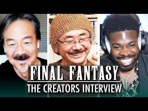 Meet Final Fantasy's Creators: Hironobu Sakaguchi & Nobuo Uematsu