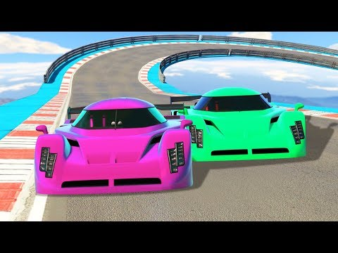 GIRLFRIEND vs. BOYFRIEND RACE BATTLE! (GTA...