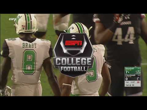 Marshall Highlights vs Cincinnati Football 2017