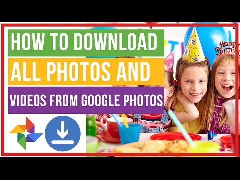 How To Download All Your Photos And Videos From Google Photos