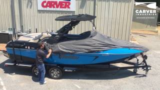 Carver Industries Custom Cover Installation