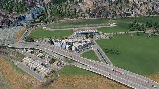 Kolej na lotnisko i kawałek obwodnicy - Cities:Skylines S07E108