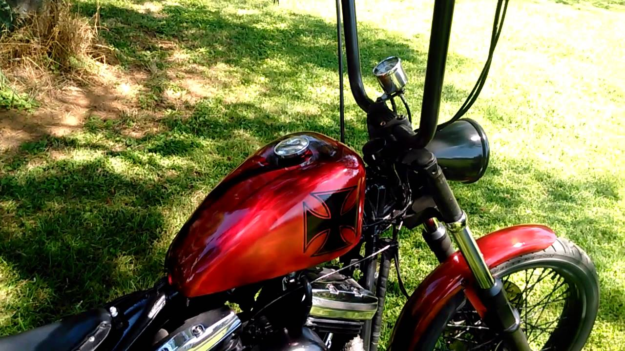 89 Harley Softail Custom Bobber Build