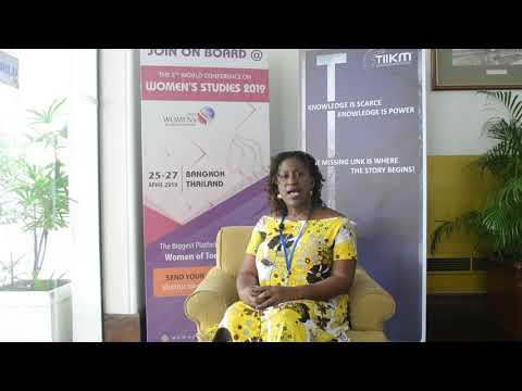 Women studies | Appeal to the World | Dr. Tracy A Mcfarlane, The University of West Indies, Jamaica