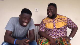Kwaku Manu Aggressive Interview with BIGGIE (OTEELE)