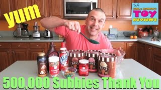 Baixar 500k Subscriber Huge Ice Cream Sundae YouTube Thank You Video | PSToyReviews