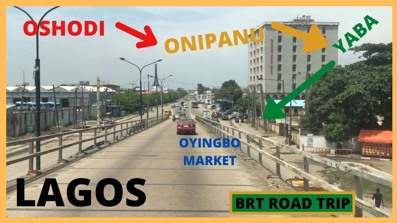 Download Lagos BRT Bus || Road Trip From Oshodi  Interchange TerminalTo Oyingbo Market