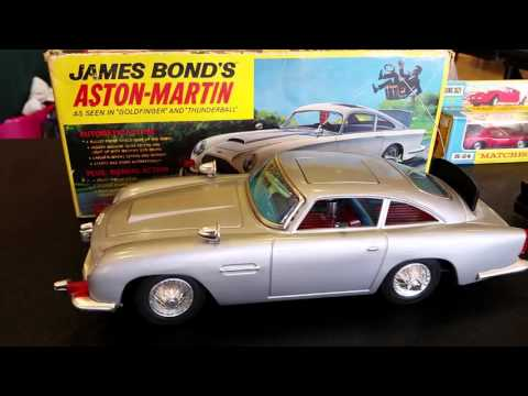 Vintage Car Toys - James Bond's Aston Martin - Indy Cars - Batmobile -Matchbox Cars - Hot Rods