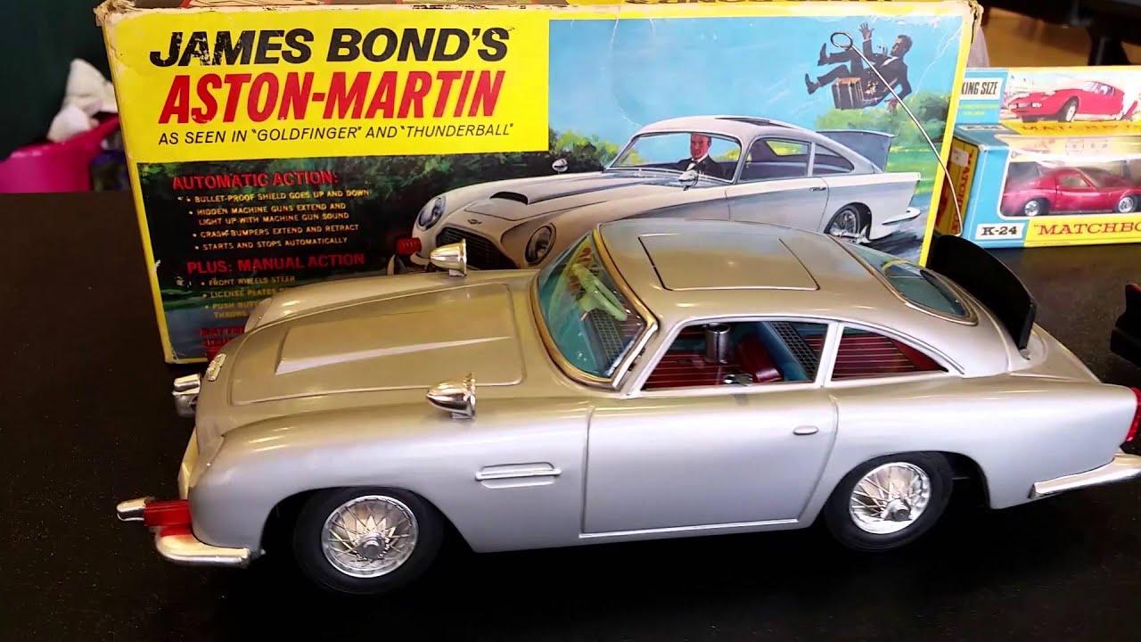 Vintage Car Toys   James Bondu0027s Aston Martin   Indy Cars   Batmobile   Matchbox Cars   Hot Rods