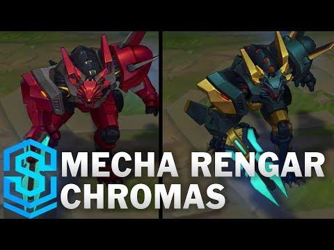 Mecha Rengar Chroma Skins