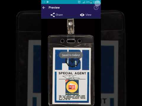 How To make Fake Id Card using Android (Fake Id Generator)