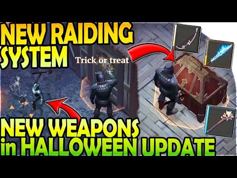 NEW RAIDING SYSTEM + WEAPONS in HALLOWEEN UPDATE - Grim Soul Dark Fantasy Survival