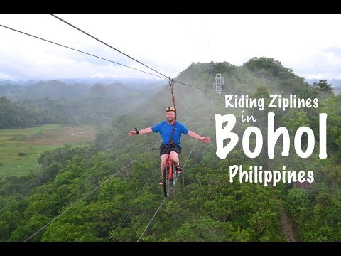 BOHOL PHILIPPINES | THE COOLEST ZIPLINE IN THE WORLD