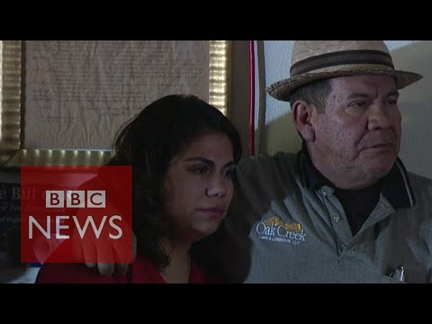 Mexican immigrant Astrid Silva reacts to Barack Obama's immigration speech