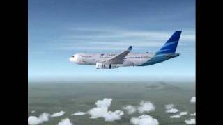 A330-200 Garuda Indonesia SEA Games Livery-An FSX Film