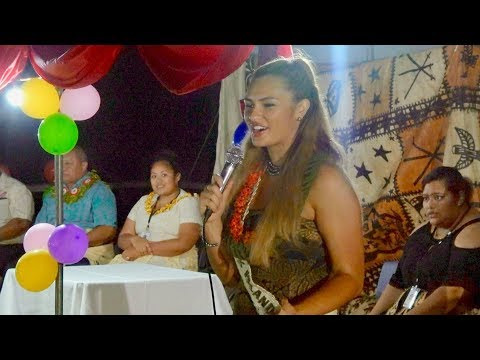 Welcome 🇨🇰 Miss Cook Islands to the Kingdom of Tonga 🇹🇴 - Miss Pacific Islands Pageant