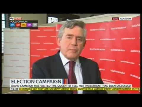 Gordon Brown interviewed on Sky News, 30th March 2015