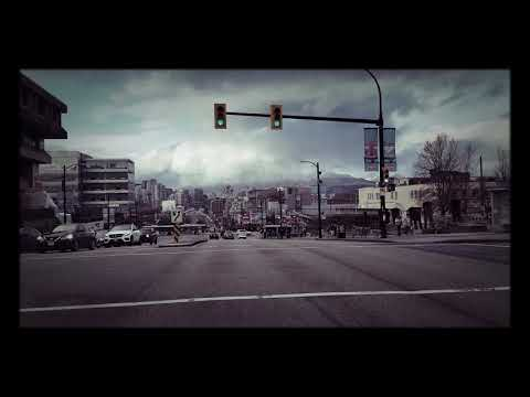 Driving down Cambie Street home, to Pacific Boulevard