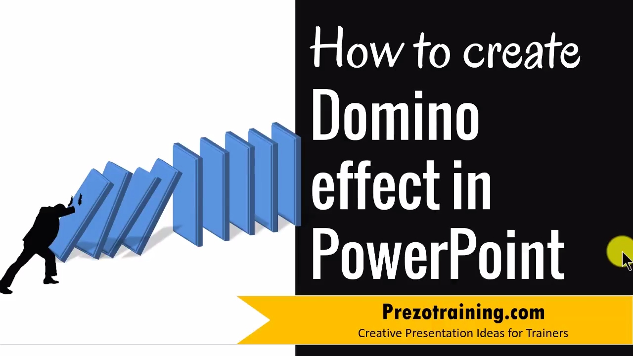 powerpoint graphic design ideas 3 - domino effect - youtube, Powerpoint templates