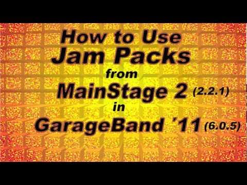 GarageBand Tutorial: How to Import ALL Apple Jam Packs from MainStage 2 for $29.99