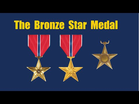 Bronze Star Medal And How To Display The Medals.