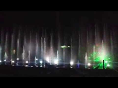 musical fountain show at ocean park
