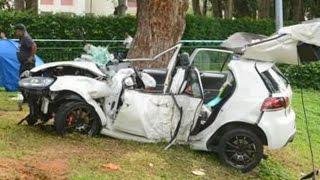 Volkswagen Crash Compilation Part.3- Passat CC Bora Caddy Golf  Touareg Transporter