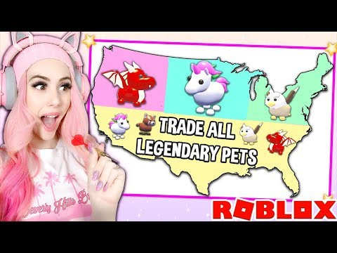 Download Throwing A DART At A MAP And TRADING Whatever PET It Lands On! Adopt Me Pet Update Mp4 baru