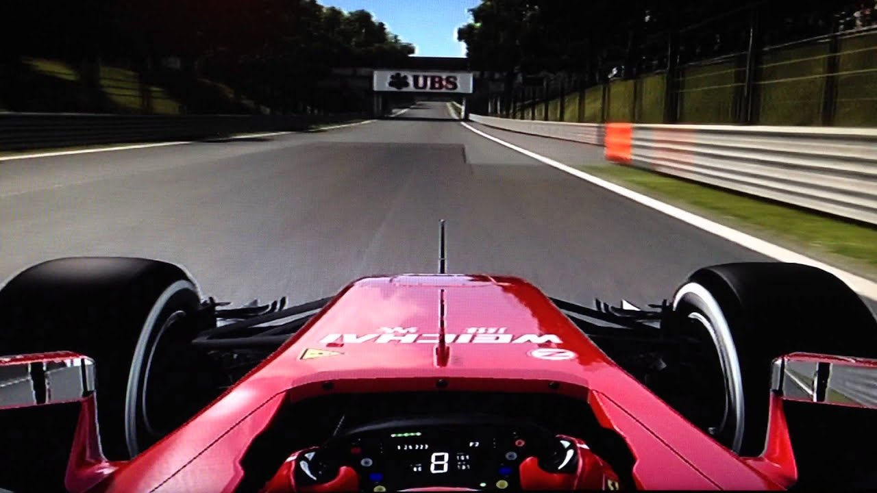 Formula 1 2014 (PS3) Onboard Lap On Monza Circuit - [Italy ...