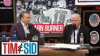Brian Burke Talks Battle Of Alberta, First Place Vancouver Canucks | Tim and Sid
