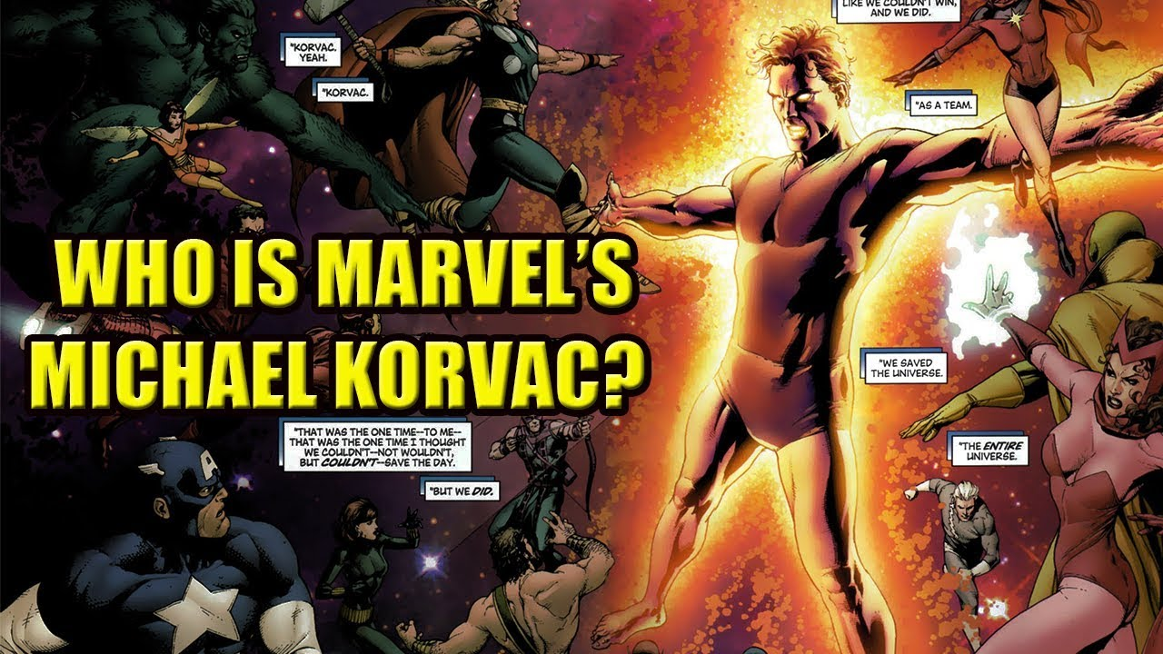 Who Is Marvels Michael Korvac Dafaqs Youtube