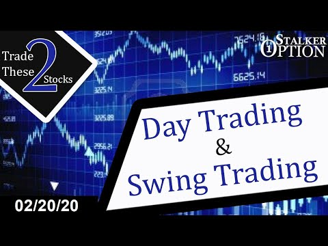 Day Trading Options – SPY Puts and Stock Option Picks  02/20/20