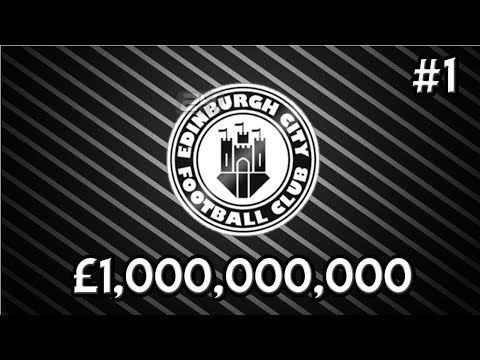 FM18 Experiment: What If A Scottish Low League Team had £1,000,000,000?