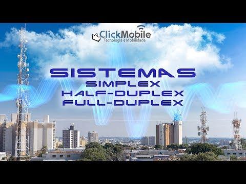 Sistemas Simplex Half-duplex e Full-duplex