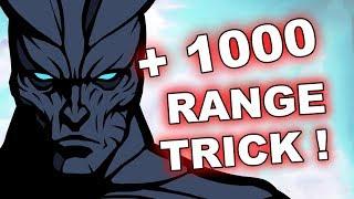 Dota 2 Tricks: + 1000 BONUS Attack Range, WTF!