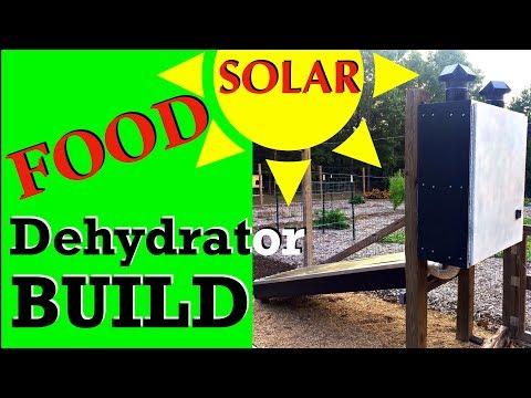 How To Build A SOLAR Dryer  -  Solar Dehydrator Design