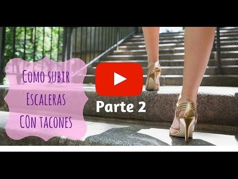 Como caminar con tacones como subir escaleras con tacones parte 2 3 youtube - Con 2 tacones ...