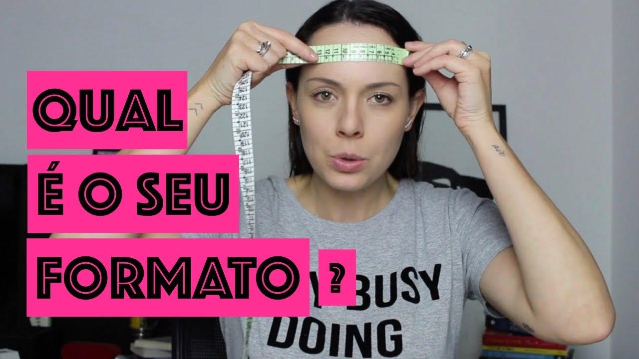 COMO IDENTIFICAR O FORMATO DO SEU ROSTO   SERA QUE FUNCIONA - YouTube 2c47c144a3