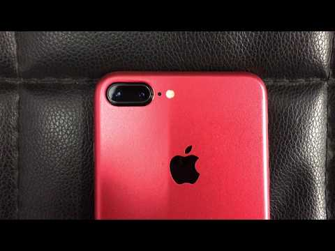 iPhone 7 Plus Custom Product Red Skin