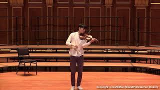 Paganini Caprice No. 1, Op. 1~ In Mo Yang (LIVE)