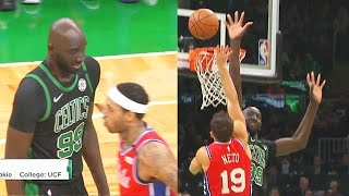 Tacko Fall Shocking Giant Standing Ovation From Celtic Crowd In Return! Celtics vs Sixers