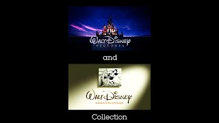 Walt Disney Pictures and Walt Disney Animation Studios Logo Collection