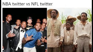 NBA Twitter vs NFL Twitter is really House Slaves vs Field Slaves!!!   #imwithKaep #TakeTheKnee