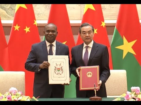 China and Burkina Faso Sign Joint Communique to Resume Diplomatic Ties