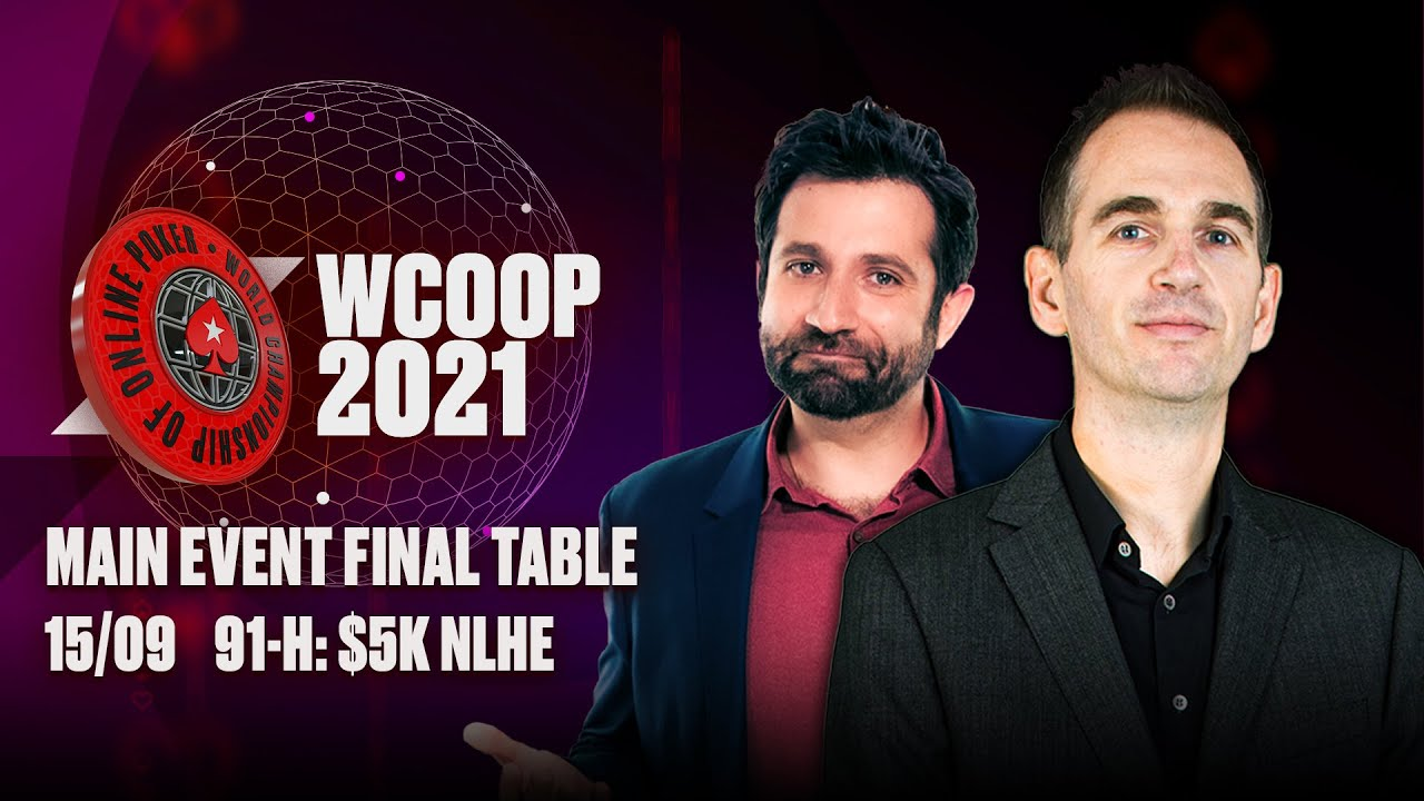 Download WCOOP 2021  🔴 MAIN EVENT FINAL TABLE!! $1.5 MILLION FOR FIRST! ♠️ PokerStars