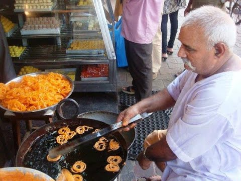Indian sweet Jalebi : Indian Street Food Eps-5