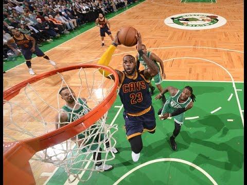 LeBron James Powers Cavs past Celtics with 36 Points in Boston! | April 5, 2017