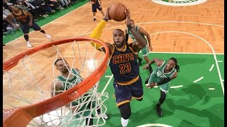 LeBron James Powers Cavs past Celtics with 36 Points in Boston! | April 5, 2017