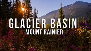 Hiking the Glacier Basin Trail at Mount Rainier